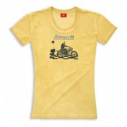T-shirt Scrambler femme
