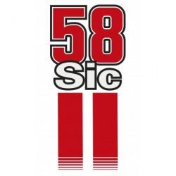 Serviette de plage Simoncelli Sic58