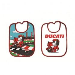 Kit bavoirs nouveau-né Ducati Corse
