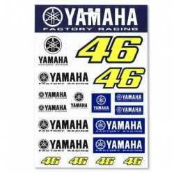 Stickers Multicolor Yamaha VR46