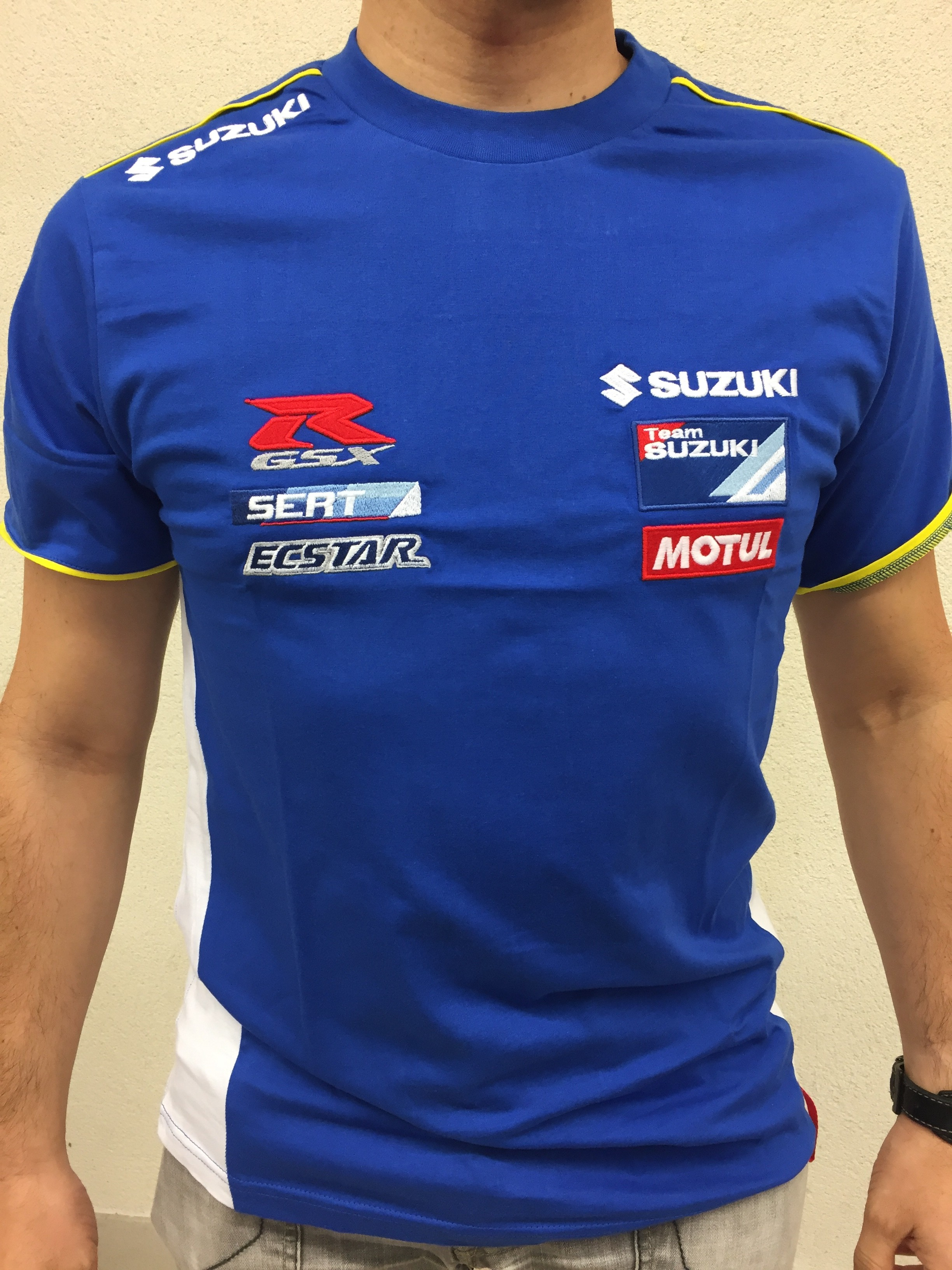 T shirt racing homme LE BRASSEUR Moto Center