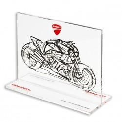 Souvenir en plexiglas Sketch Diavel Ducati
