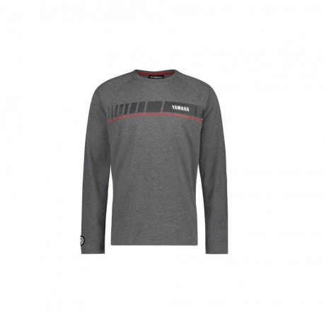 T shirt manche longue Yamaha Revs gris