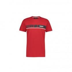 T shirt Yamaha 19 RV rouge