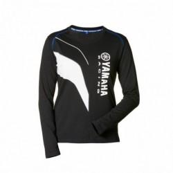 T-Shirt femme Yamaha Paddock noir